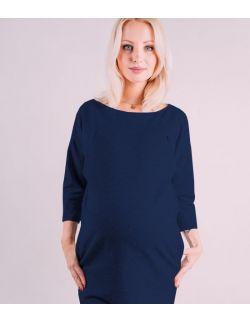 Sukienka ciążowa i do karmienia Clifton blue