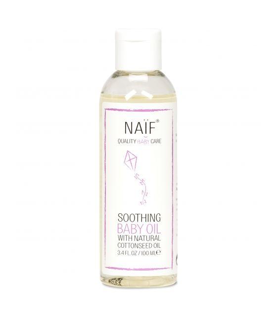 NAÏF – 100% naturalny olejek kojący z olejem bawełnianym dla niemowląt 100 ml