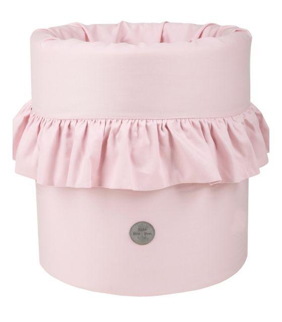 9c68a73a779fc8 Kosz na zabawki miękki różowy - Mamaville