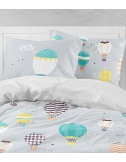 Kołdra 110x140cm + poduszka Balony