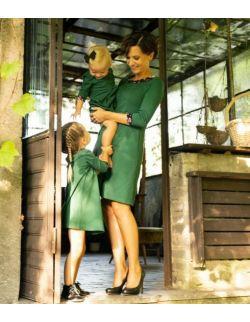 Sukienka Alicja dziecięca zieleń