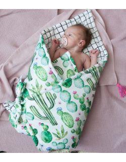 Rożek niemowlęcy Kaktusy