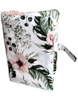 Etui na książeczkę zdrowia Watercolor flowers