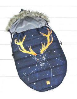 Śpiworek zimowy niemowlęcy Deer