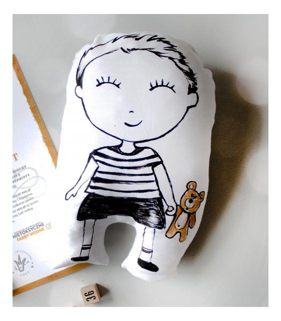 przytulanka dla chłopca zabawki kontrastowe dla maluszków