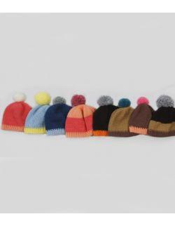 czapeczki z pomponem Willow Hand Made