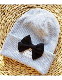 czapka KOKARDA szara