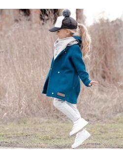 Płaszcz dziecięcy wiosenno-jesienny -morski granat