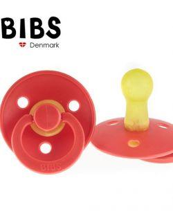 Smoczek Uspokajający Hevea BIBS Strawberry M