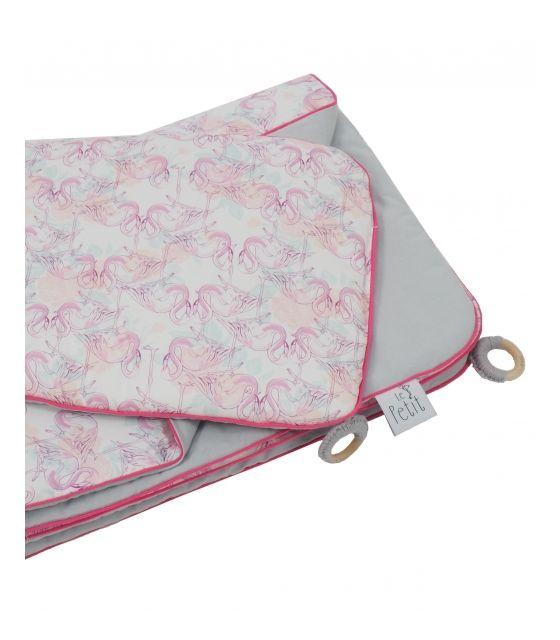 Pościel z wypełnieniem Hola Flamingo