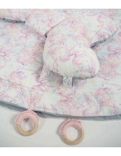 Mata do zabawy 120cm Hola Flamingo