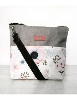 wodoodporna torebka dla dziewczynki Ninki® (Gile na białym tle)