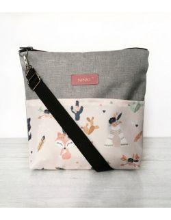 wodoodporna torebka dla dziewczynki Ninki® (tribal jasny)