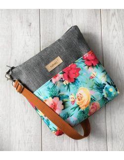 wodoodporna torebka dla dziewczynki Ninki® (kolorowe kwiaty)