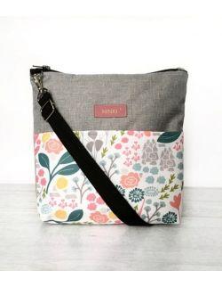 wodoodporna torebka dla dziewczynki Ninki® (pastelowe kwiaty)