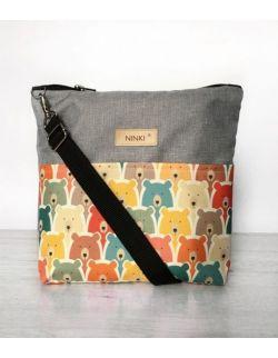 wodoodporna torebka dla dziewczynki Ninki® (misie retro)