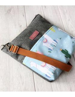 wodoodporna torebka dla dziewczynki Ninki® (lama)