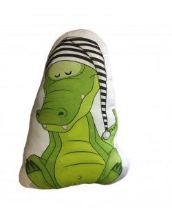 Poduszka Baby Dekor - Krokodyl 100% bawełna zabawka
