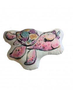 Poduszka Baby Dekor - Żółwik 100% bawełna zabawka