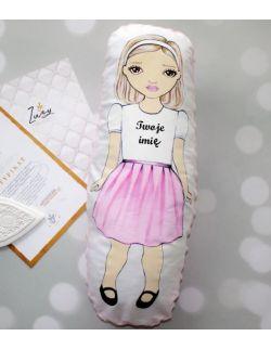 Lalka handmade z imieniem dziecka