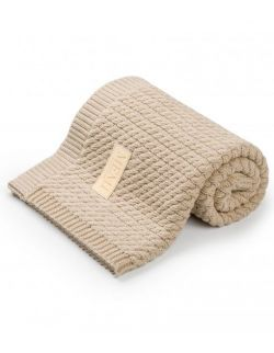 bawełniany kocyk sand piaskowy
