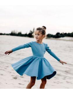 Sukienka Angelina niebieska