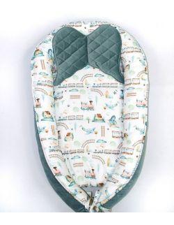Kokon niemowlęcy kolorowa podróż