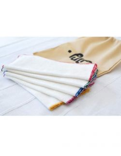 Bambusowe Chusteczki-Myjki Wielorazowe 20×20 cm – 5 szt
