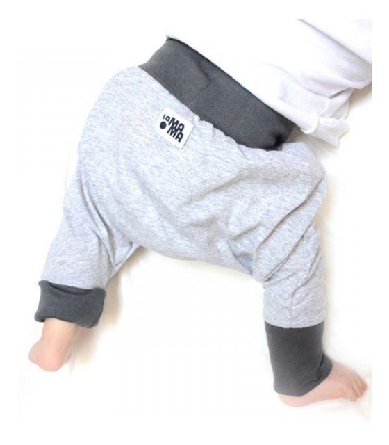 mini mini szary + szary mat - pierwsze portki