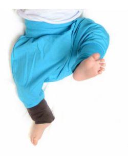 mini mini turkus - pierwsze portki