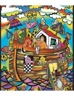 Kolorowanka Welwetowa 47x35 Arka Noego