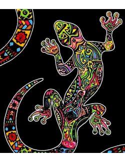 Kolorowanka Welwetowa 47x35 Gekon