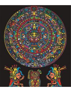 Kolorowanka Welwetowa 47x35 Aztekowie