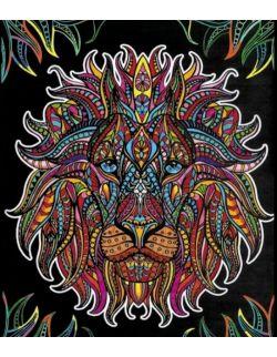 Kolorowanka Welwetowa 47x35 Lew