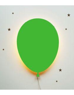 Ścienna nocna lampka LED - Balonik Green