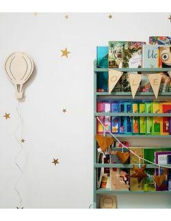 Drewniana lampka nocna - balon ALEX