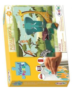 Puzzle Wertykalne Sawanna 24 elementy