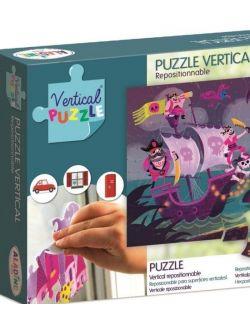 Puzzle Wertykalne Piraci 48 elementów