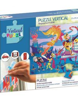 Puzzle Wertykalne Smok 48 elementów