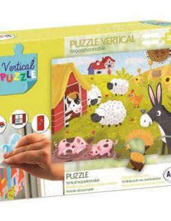 Puzzle Wertykalne Farma 24 elementy