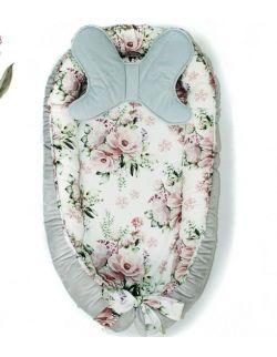Kokon niemowlęcy lovely flowers