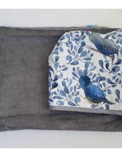 Ręcznik bambusowy - Ptaki - Cuddle Dreams - duży
