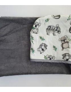 Ręcznik bambusowy - duży - Koala - Cuddle Dreams