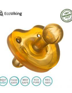 Eco Viking Smoczek Uspokajający Hevea wiek 6m+