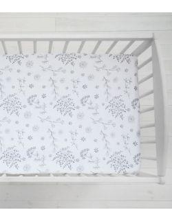 Prześcieradło do łóżeczka We care Bloom 120 x 60cm