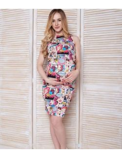 MamaBelle sukienka ciążowa do karmienia POP