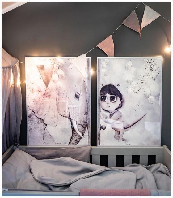 Tilo 2 Duże Plakaty Na Płótnie Do Pokoju Dziewczynki Ilustracja Na ścianę Dekoracja Dla Dziecka Mojo Graffi