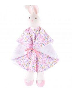 Mięciutki komforter kauczukowo-bawełniany króliczek Havah