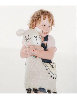 Lama poduszka przytulanka