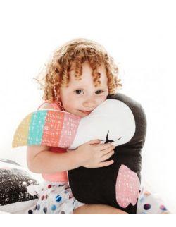Tukan poduszka przytulanka